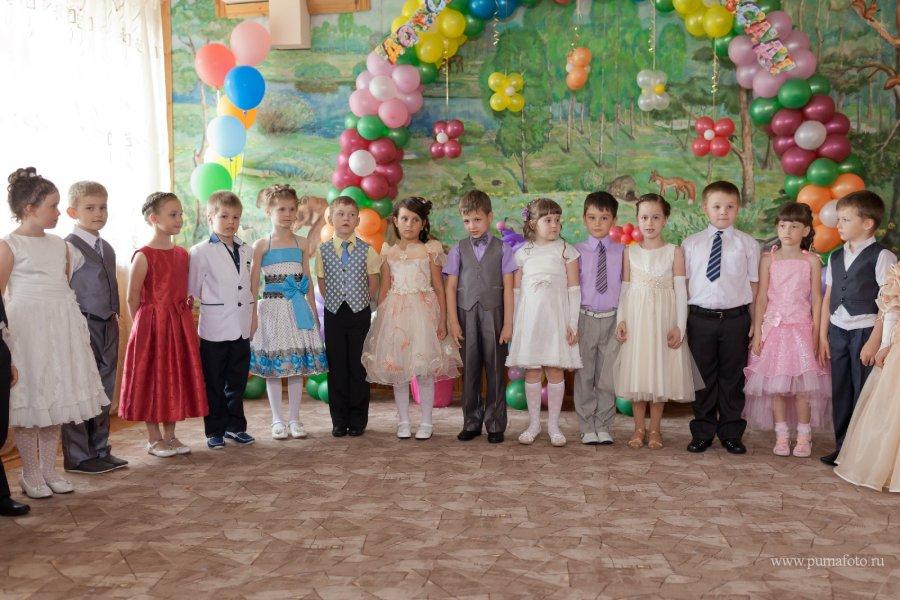 платья на выпускной в садик фото