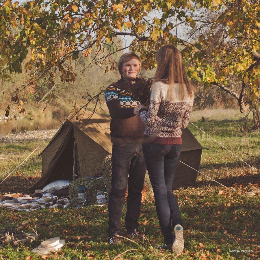 Осенний пикник с сюрпризом